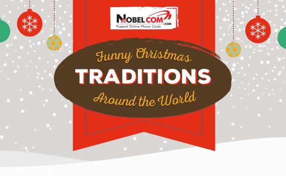 Funny Christmas Traditions Around The World Nobelcom Blog