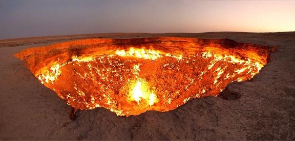 Derweze Turkmenistan